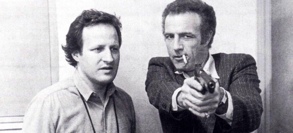 Michael Mann e James Caan na filmagem de THIEF (1981)